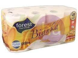 Forest Bianka 3 rétegű toalettpapír 16 tek. Méz-mandula 82500065