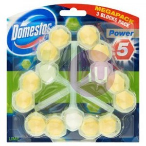 Domestos Power5 WC-rúd 3x55g Lime 82510107