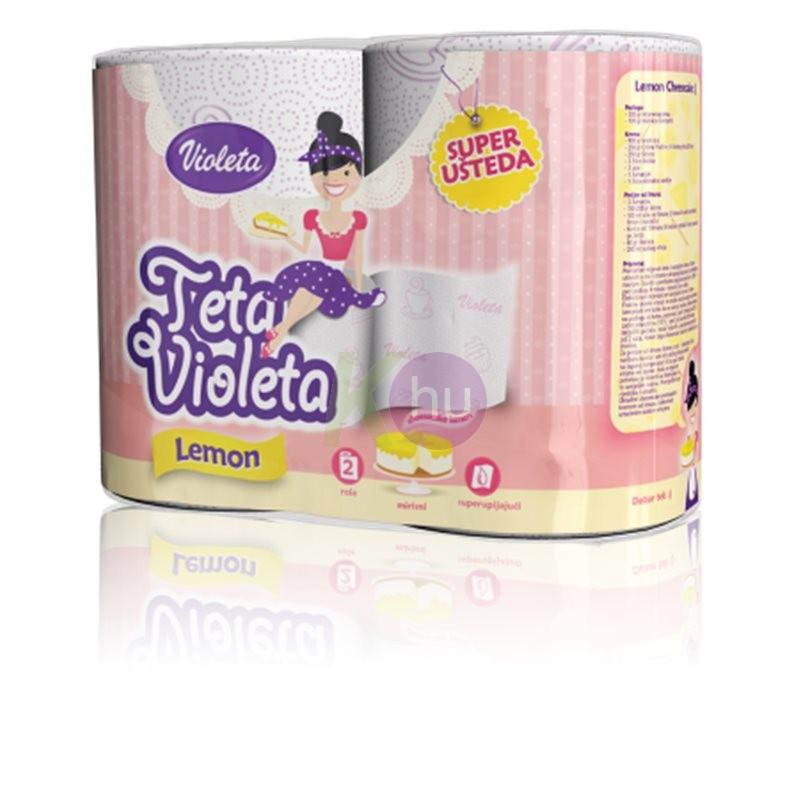 Violeta Prémium Jumbo XXL 3 rétegű törlőpapír 2 tek. 82600002