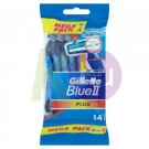 Gillette Gillette Blue II. Plus eldobható borotva 10+4db 11000543