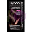 Syoss Color 3-3 sötét violett 13100778