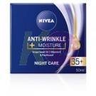 Nivea Visage Nivea Anti Wrinkle50 ml 35+ Éjszakai arckrém 13171168