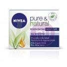 Nivea Visage Nivea V. Pure&Natural arckrém 50ml éjszakai normál/vegyes bőrre 14153000