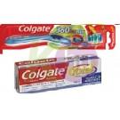 Colgate Colg. fogkefe 360 lágy+total fogkrém többféle 16503101