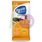Presto Clean konyhai törlőkendő 72db 19136820