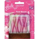 Glade by Brise Discreet Elektr.kesz. ut 12g  First Bloom 22045905