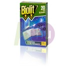 Biolit szunyog elleni lap 20db 24101800