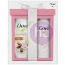 Dove 15 kar.csom Powder Soft deo 150ml+ Purely Mandula tus 250ml 24158941