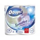 Ooops! toalettpapír 4 tek sensitive 31000637
