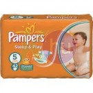Pampers sleep&play junior42    (5)   11-25kg 31001533