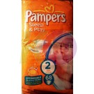 Pampers sleep&play mini 68   (2)  3-6 kg 31001534