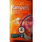 Pampers sleep&play mini 68   (2)  3-6 kg 31001534