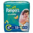 Pampers Regular Count MaxiPlus 18 31001544