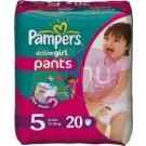 Pampers ActivePants Girl Junior (20) 31001549