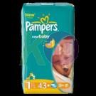 Pampers Newborn 43 pelenka (1) 2-5kg 31020000