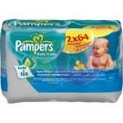Pampers törlőkendő baby fresh ut. 2*64-es 31098707