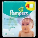 Pampers törlőkendő  Fresh Clean ut. 4*64-es 31098710