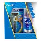 Gil. 13 kar.csom blue3 készülék +betét+series bor.gél 75ml 51204603