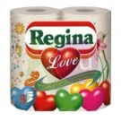Regina Love 3 rétegű törlőpapír 2 tek. 82700004